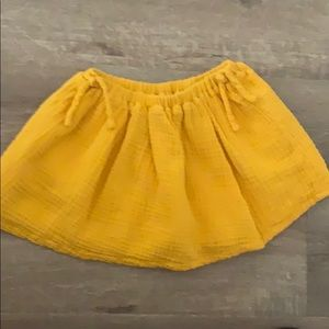 Zara toddler skirt